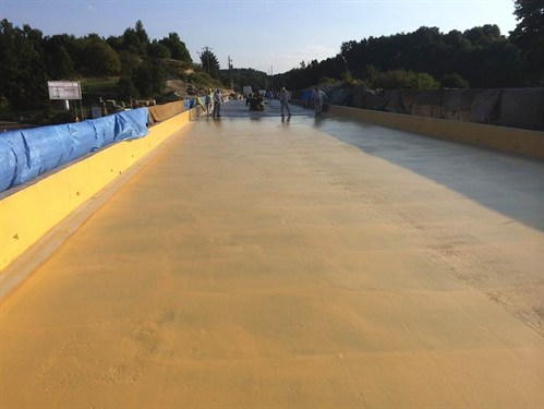 Bridge waterproofing